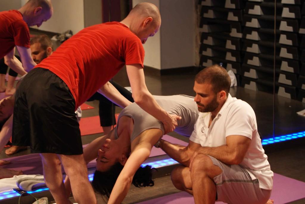 anatomie palpatoire et formation yoga